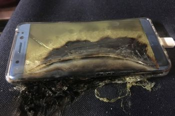 Возгорание аккумулятора Samsung Galaxy Note 7